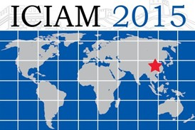 ICIAM 2015. August 10th-14th, 2015. Beijing, China.