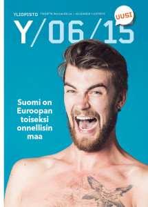 The cover the latest issue of Yliopisto-lehti.