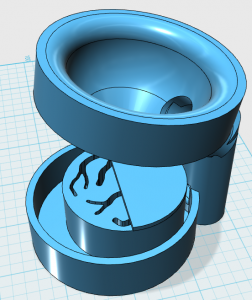 Design of the prototype for 2D dynamic CT.