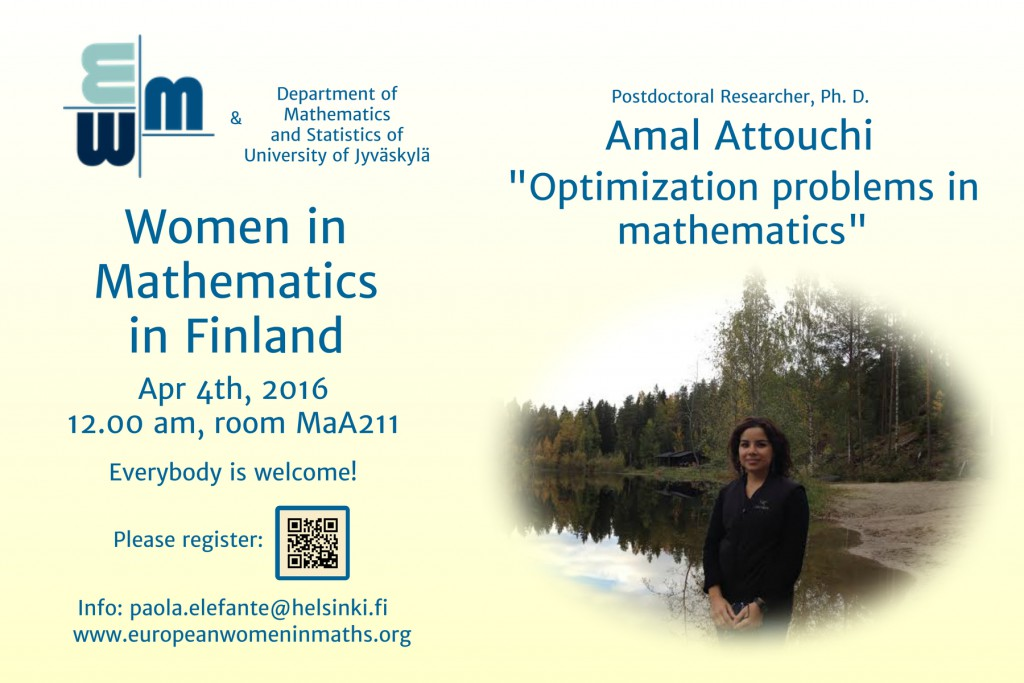 The poster of the event: feel free to share!